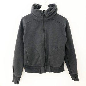 Lululemon Gray Zip Up Sweatshirt Jacket Size 6